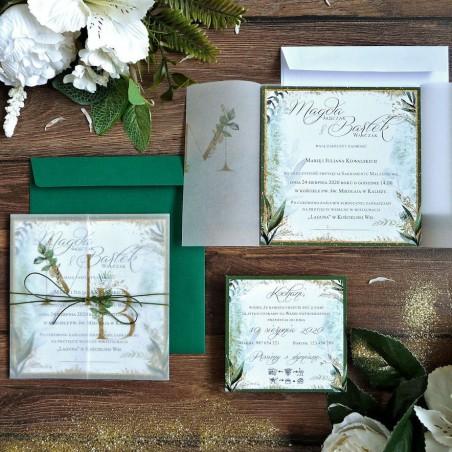 Zaproszenia ślubne z kalką ZR81