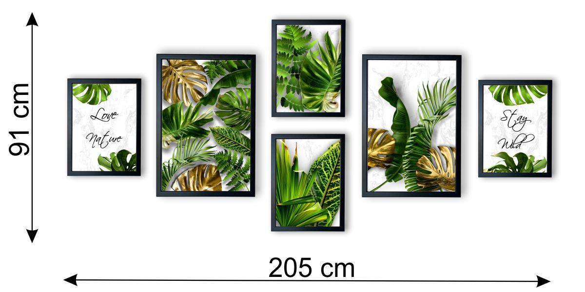 galeria tropical monstera jasna wymiary