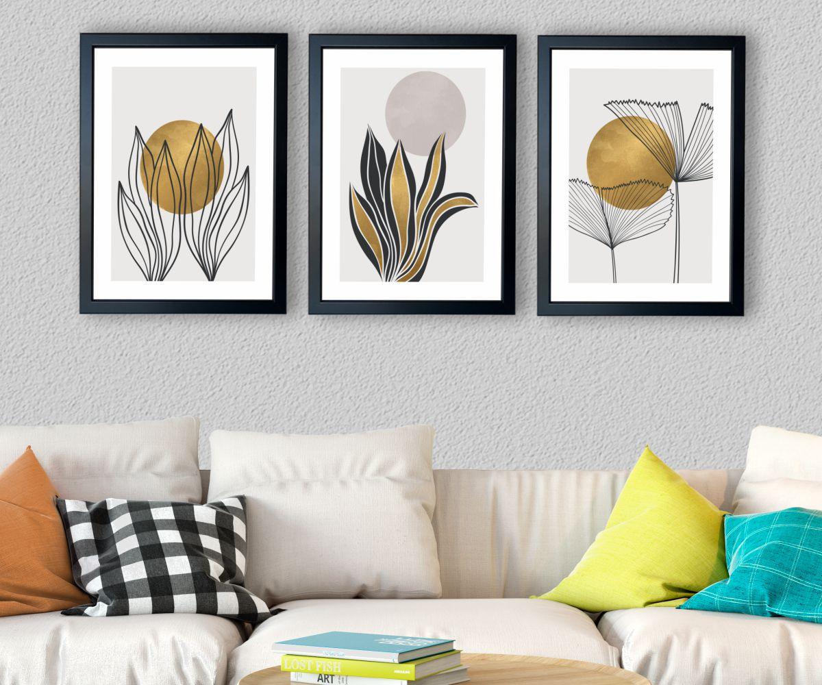 abstrakcja 3 w salonie