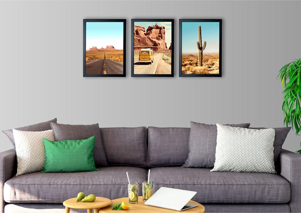 Obrazy Wielki Kanion nad kanapą