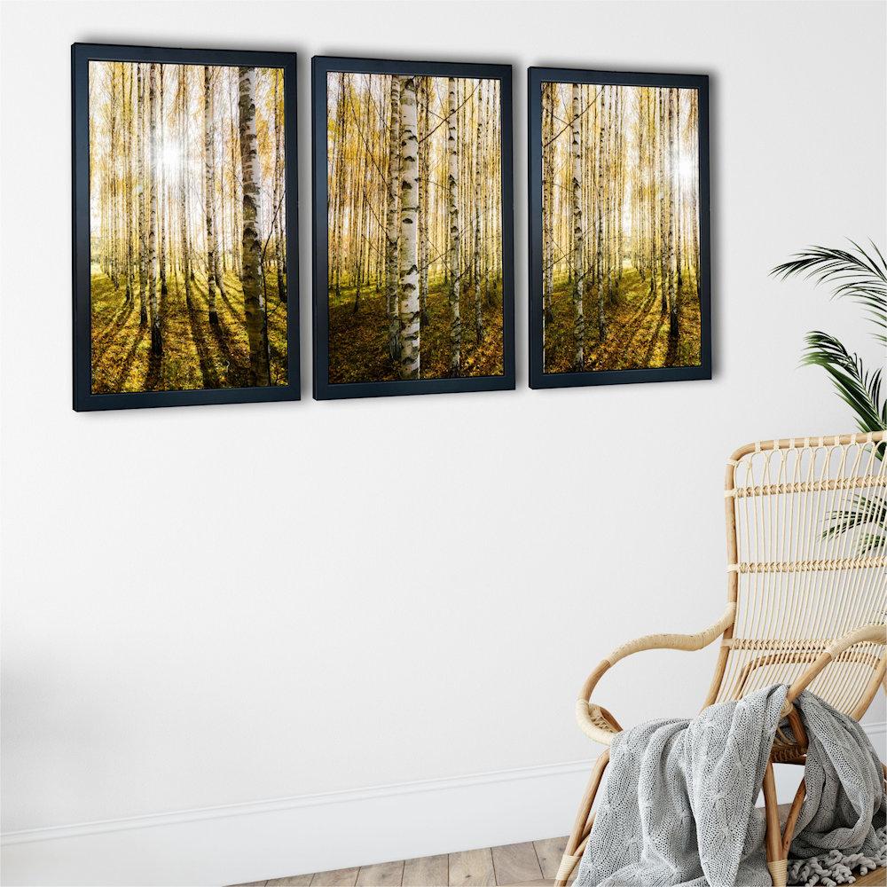 las brzozowy pod kątem