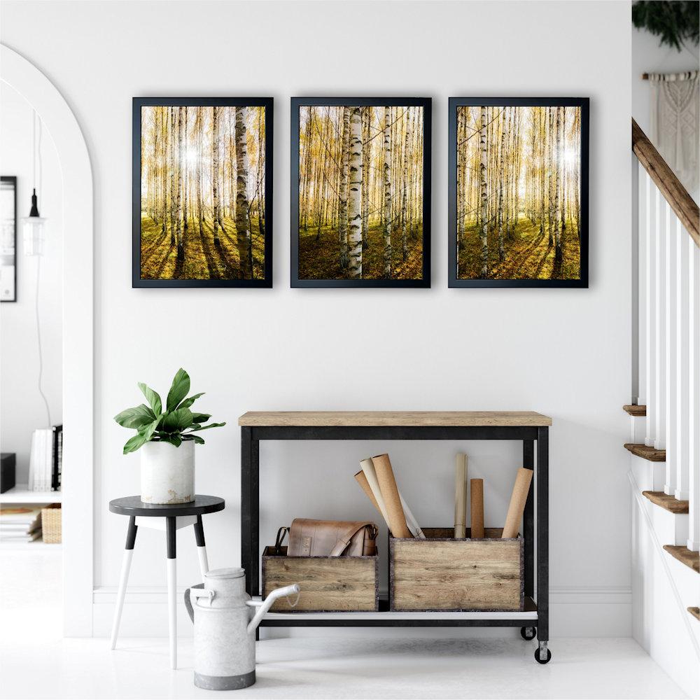 las brzozowy w salonie